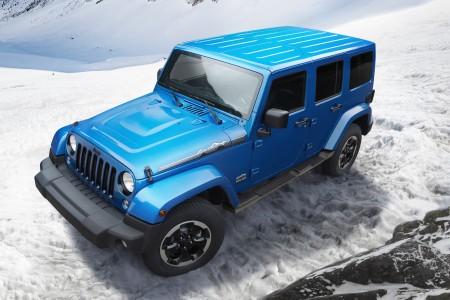 Série limitée Jeep Wrangler Polar à Francfort 450-3010