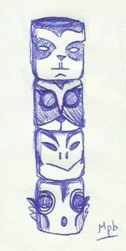 Draw my Totem Totems10