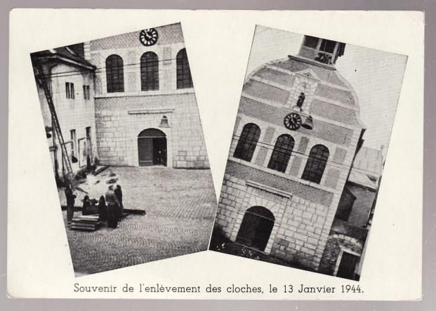 Réquisition des cloches de l'église de Dolhain. Avec un Maultier Mercedes 4500 de Revell 1/35  Cloche10