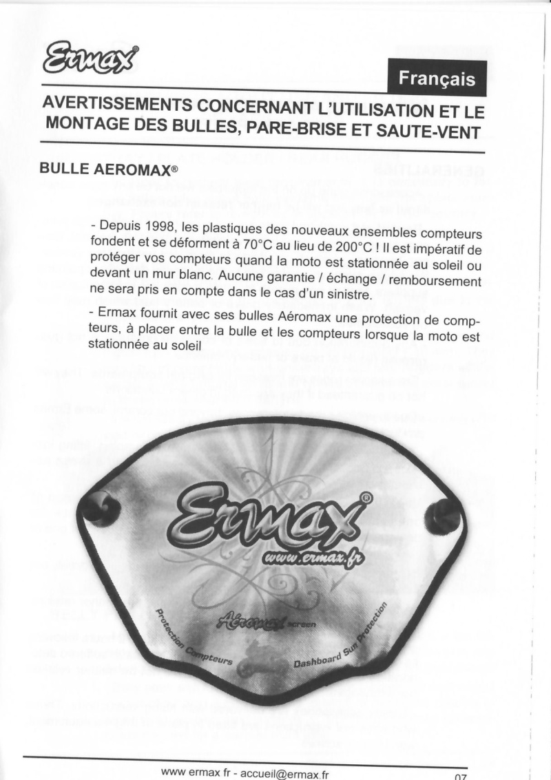 Bulle ermax FJR 2013 Ermax10