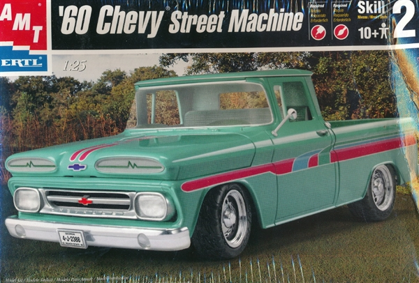 """The Mexican""   chevy pick up 1960 Amt-6310"