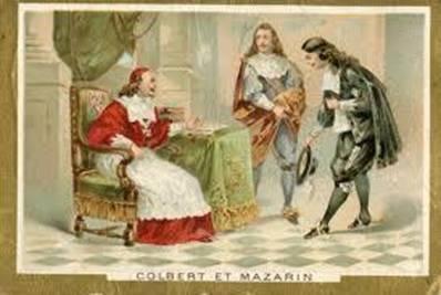 """Citations de Colbert et de Mazarin qui n'ont pas pris une seule ride, extraites du """"Diable Rouge"""", c'était il y a 4 siècles !!!!  C_et_b10"""