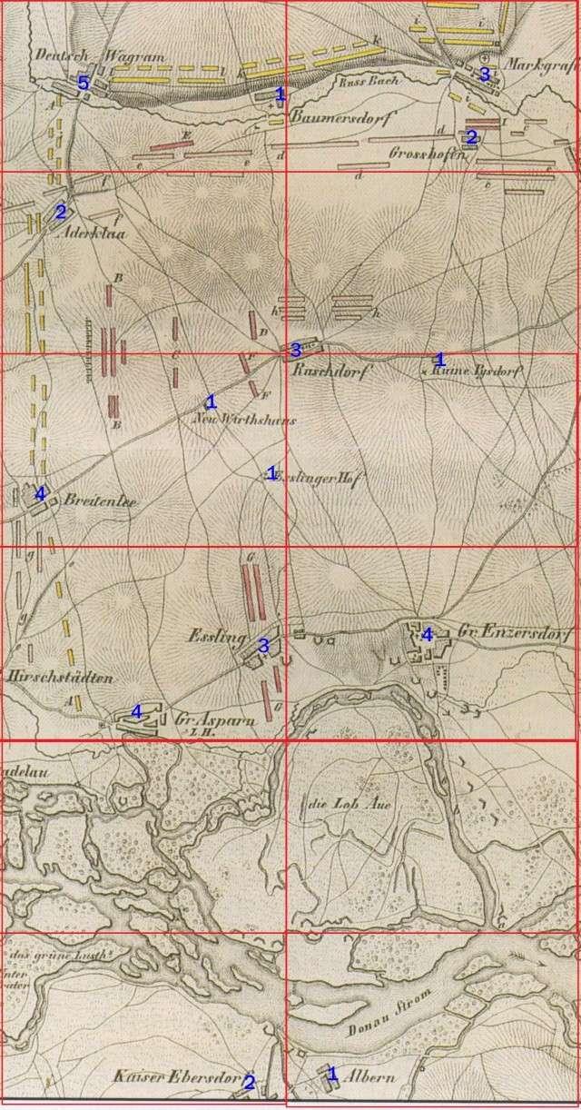 DÉCOR PERMANENT, DIORAMA PROVISOIRE : ASPERN, ESSLING, LOBAU, WAGRAM 1809. - Page 2 Choix_12