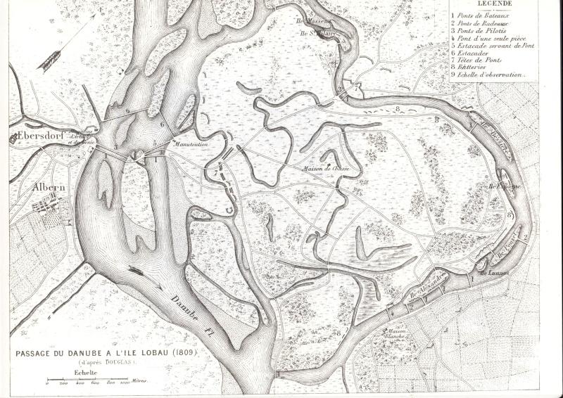 DÉCOR PERMANENT, DIORAMA PROVISOIRE : ASPERN, ESSLING, LOBAU, WAGRAM 1809. - Page 2 Les_sa10
