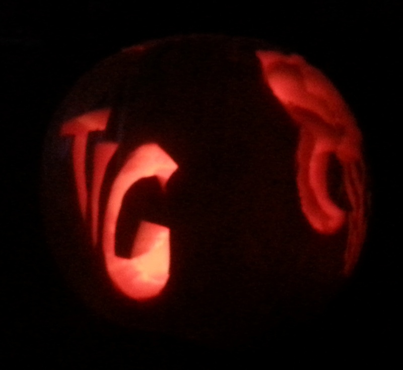 """The 2nd Annual """" TIG STAR WARS PUMPKIN CARVING CONTEST """" begins ... - Page 3 20141111"""