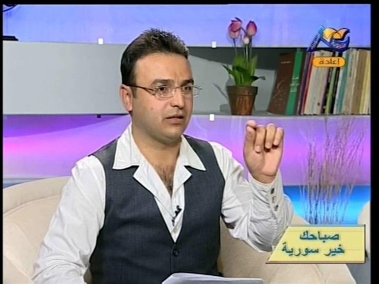 الفنان سلطان حمد .يقدم صباح الخير سورية  Vlcsna10