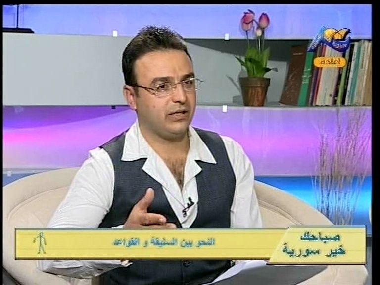 الفنان سلطان حمد .يقدم برنامج صباح الخير مباشر  Vlcsna11