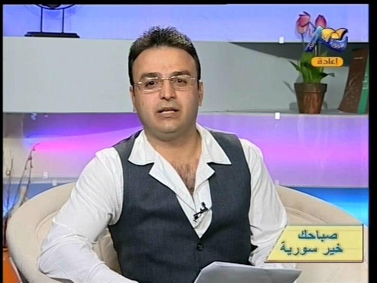 الفنان سلطان حمد .يقدم برنامج صباح الخير مباشر Vlcsna12