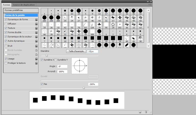 Créer une pellicule photo-diapo avec photoshop - Page 2 Formes11