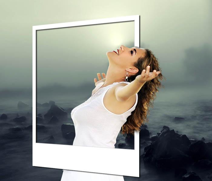 Réaliser une photo hors-cadre avec Paint shop pro Hh10