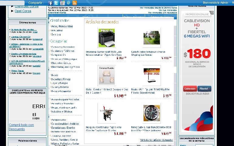 introducir dentro del foro un portal de ventas tipo mercado libre Ejempl11