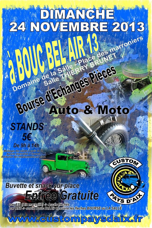 MANIFESTATION - Bourse a bouc bel air 13 Cpa_a_10