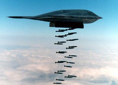 Amerikanët gati të sulmojnë Koren e Veriut, furnizojnë bombarduesit e padukshëm B-2 Spirit, çështje orësh lufta! (video) Bomb110