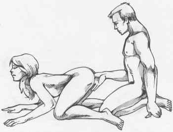 5 pozicionet më të preferuara të grave në seks! Doggy-10