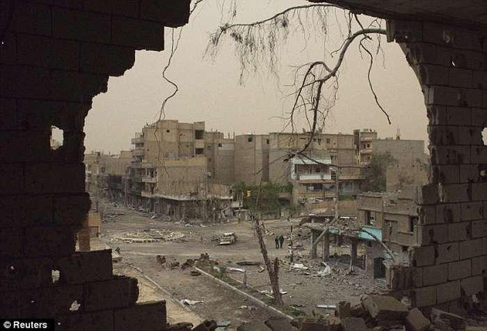 Lufta civile në Siri, pamjet e rralla të shkatërrimit nga bombardimet (FOTO) Siri210