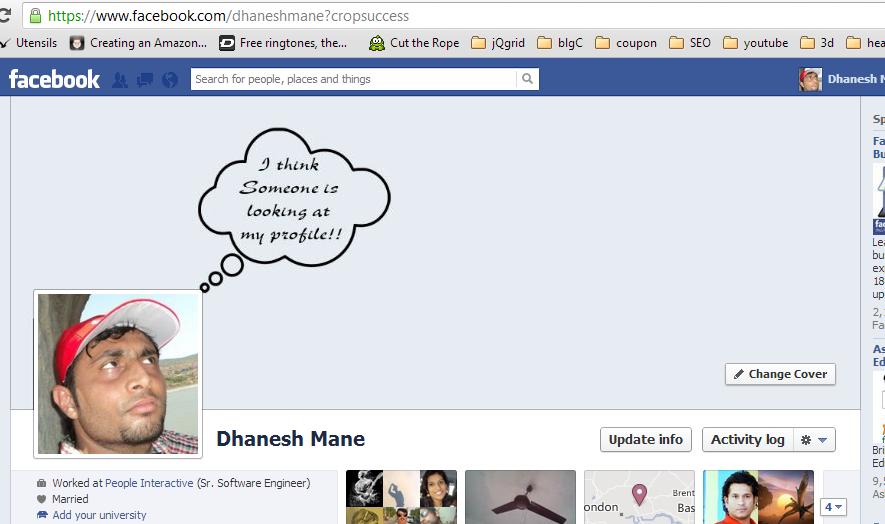Covera per facebook... loOl :D Think-10