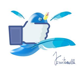 Facebook Vs Twitter Zenitr10