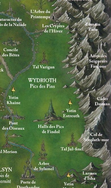 [CDA- spécial 01] Wydrioth, Les Pics des Pins.  Carte_10
