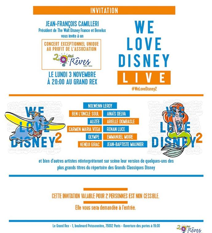 Tr Concert WE LOVE DISNEY 2 Invita10