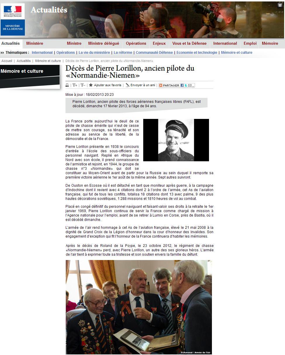 Décès de Pierre Lorillon Pierre10