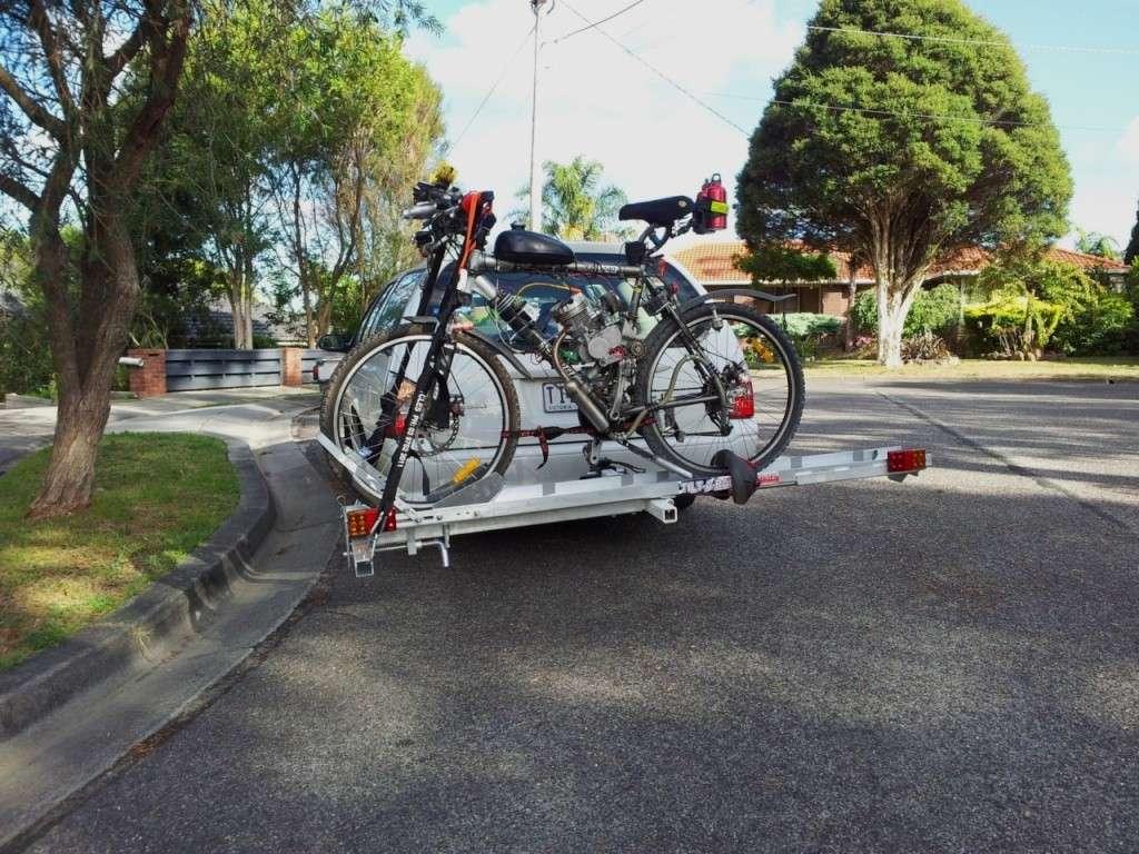 Tilt-A-Rack bike carrier - Hitch Mount System Tilt-a13