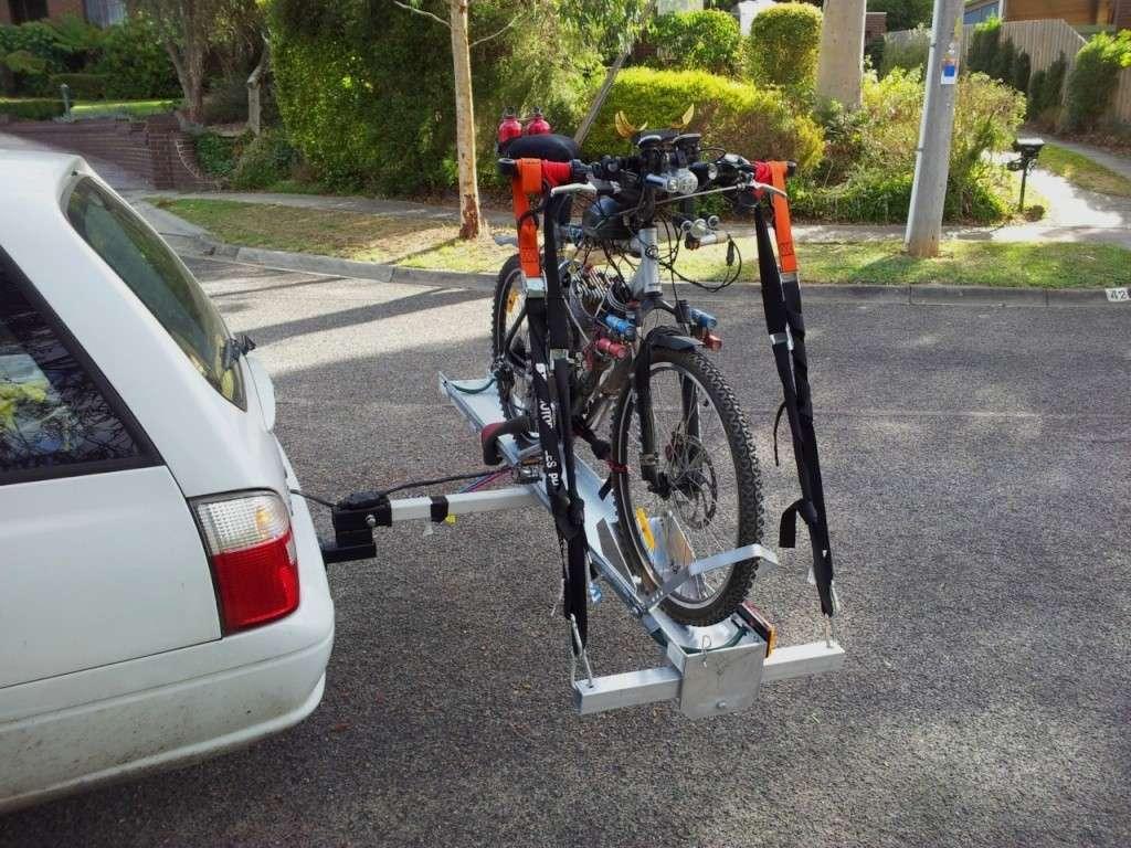 Tilt-A-Rack bike carrier - Hitch Mount System Tilt-a14