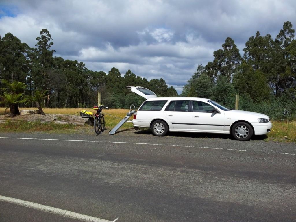 Tilt-A-Rack bike carrier - Hitch Mount System Tilt-a15