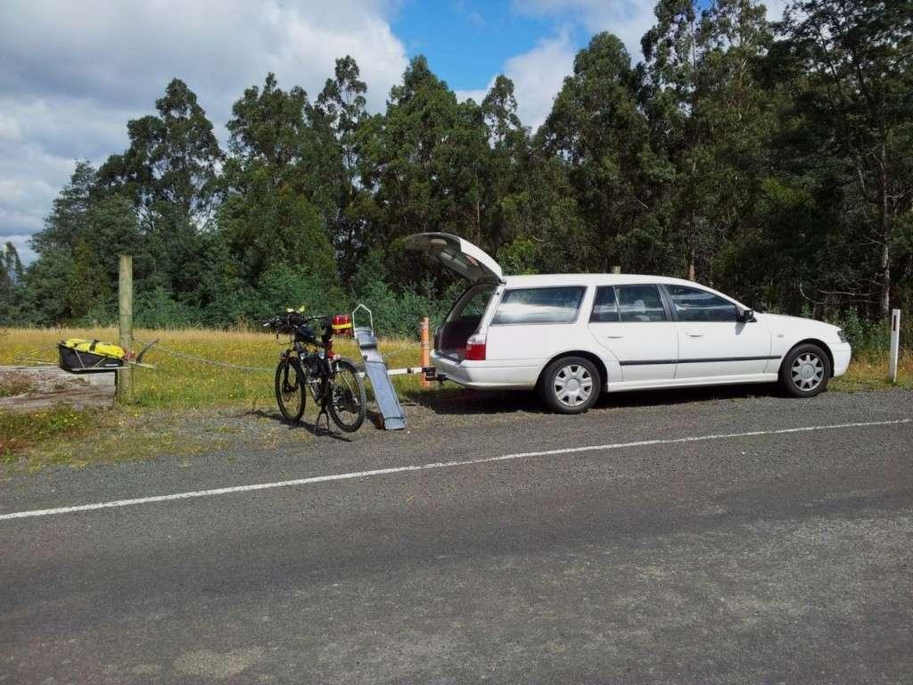 Tilt-A-Rack bike carrier - Hitch Mount System Tilt-a16