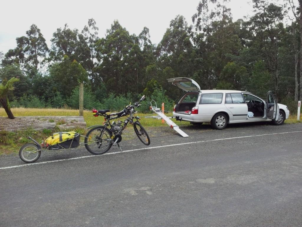 Tilt-A-Rack bike carrier - Hitch Mount System Tilt-a17