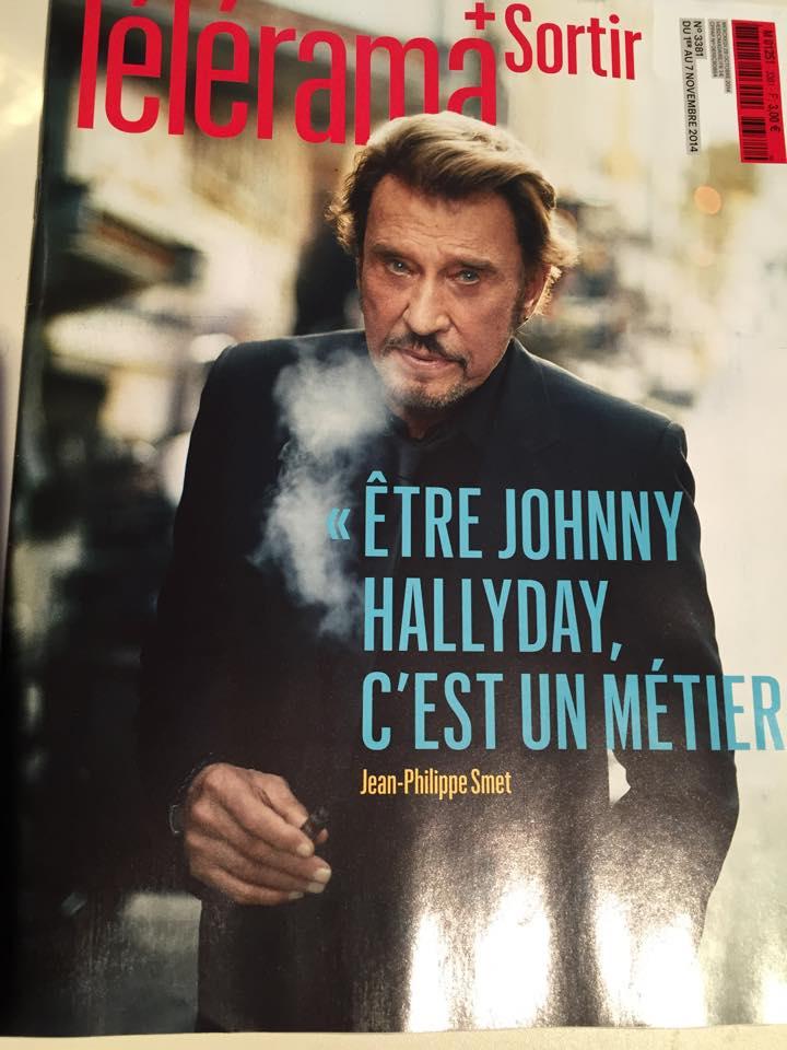 "[presse] couverture de télérama ""sortir"" : Jonnhy vape :D Johnny10"