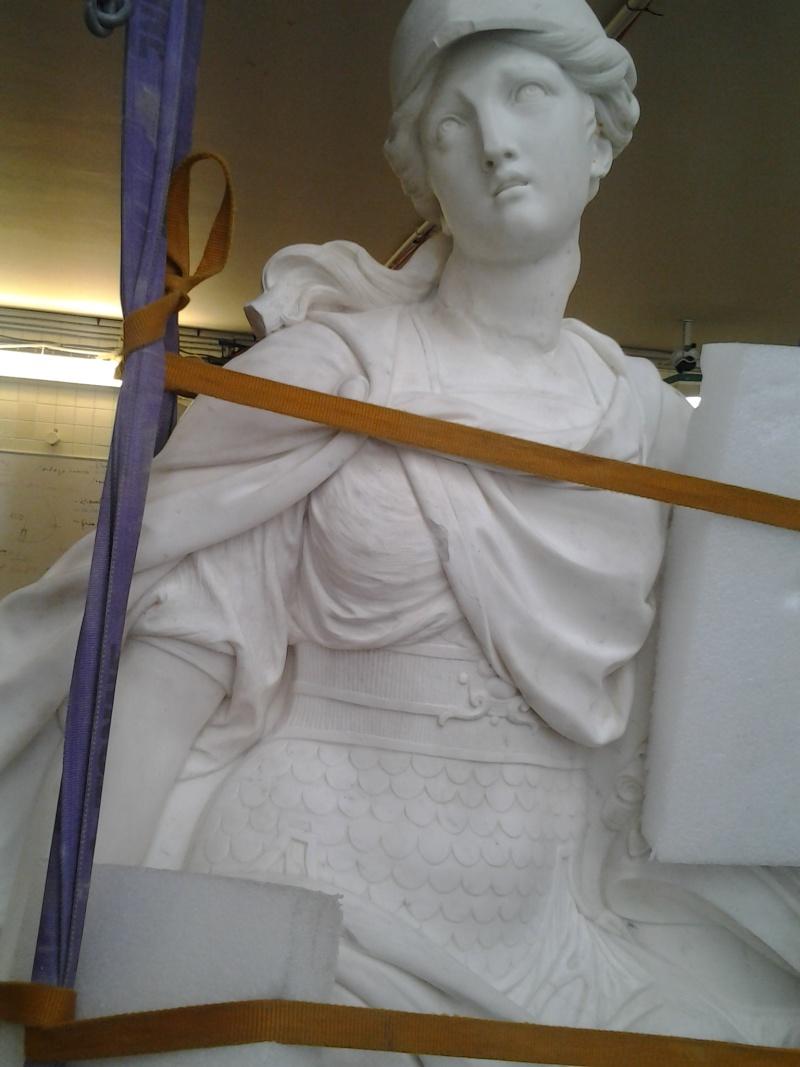Visite à l'atelier de restauration des sculptures du C2RMF 103610