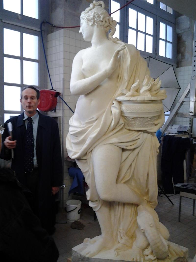 Visite à l'atelier de restauration des sculptures du C2RMF 92610