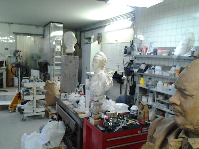 Visite à l'atelier de restauration des sculptures du C2RMF 92810