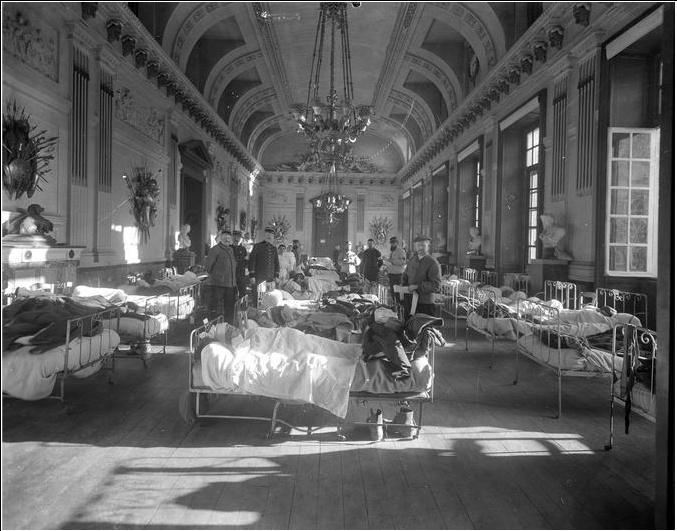 """Exposition """"Le palais de Compiègne dans la Grande Guerre""""  Compiy10"""