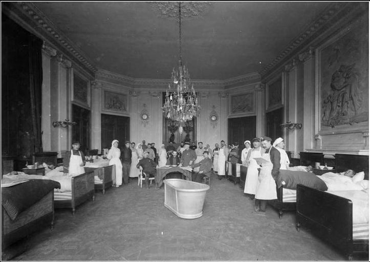 """Exposition """"Le palais de Compiègne dans la Grande Guerre""""  Compiy11"""