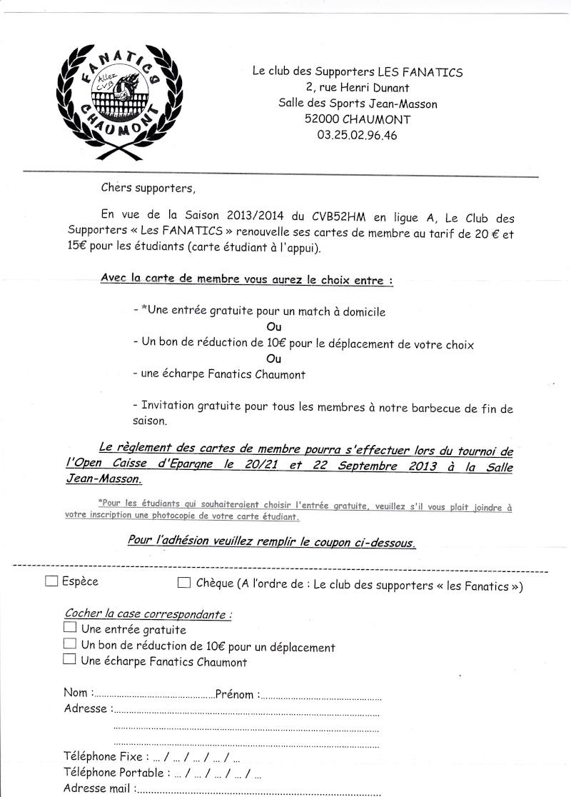 Adhésion au Club des Fanatics Chaumont Feuill10