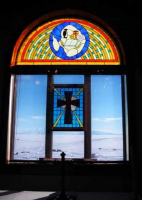 Un église Russe Orthodoxe en Antarctique Chapel11