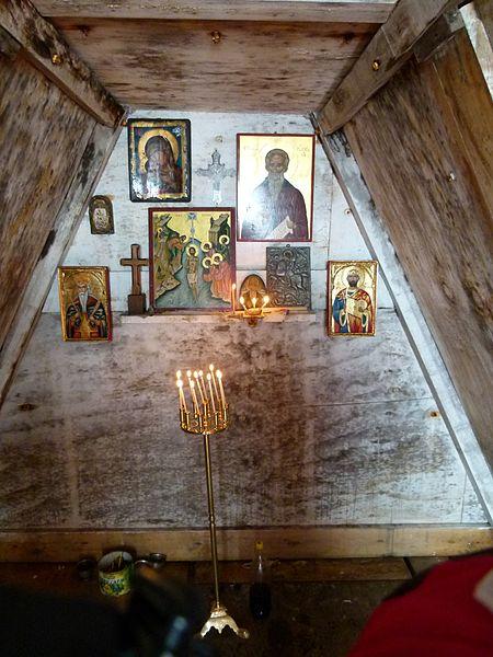 Un église Russe Orthodoxe en Antarctique Interi10