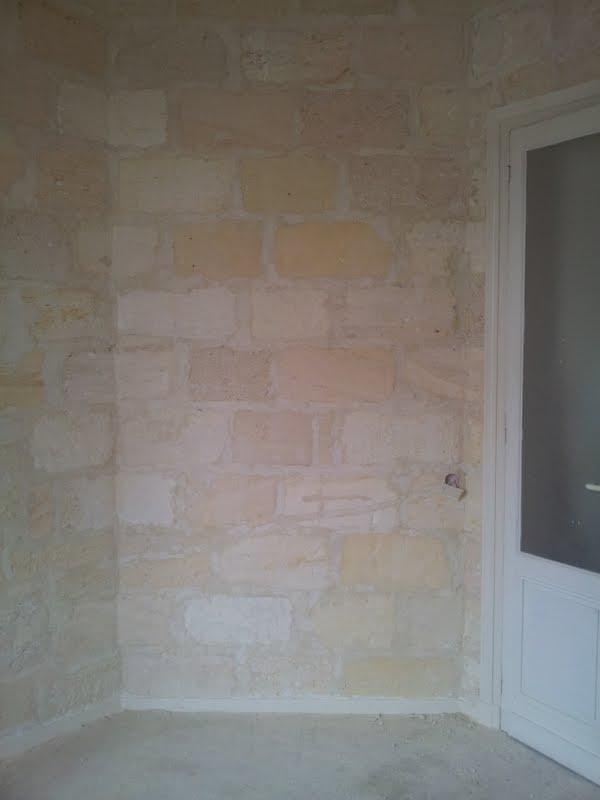 rénover un mur en pierre apparente avec joint ciment Result10