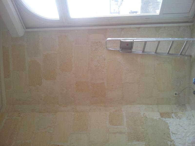 rénover un mur en pierre apparente avec joint ciment Result11