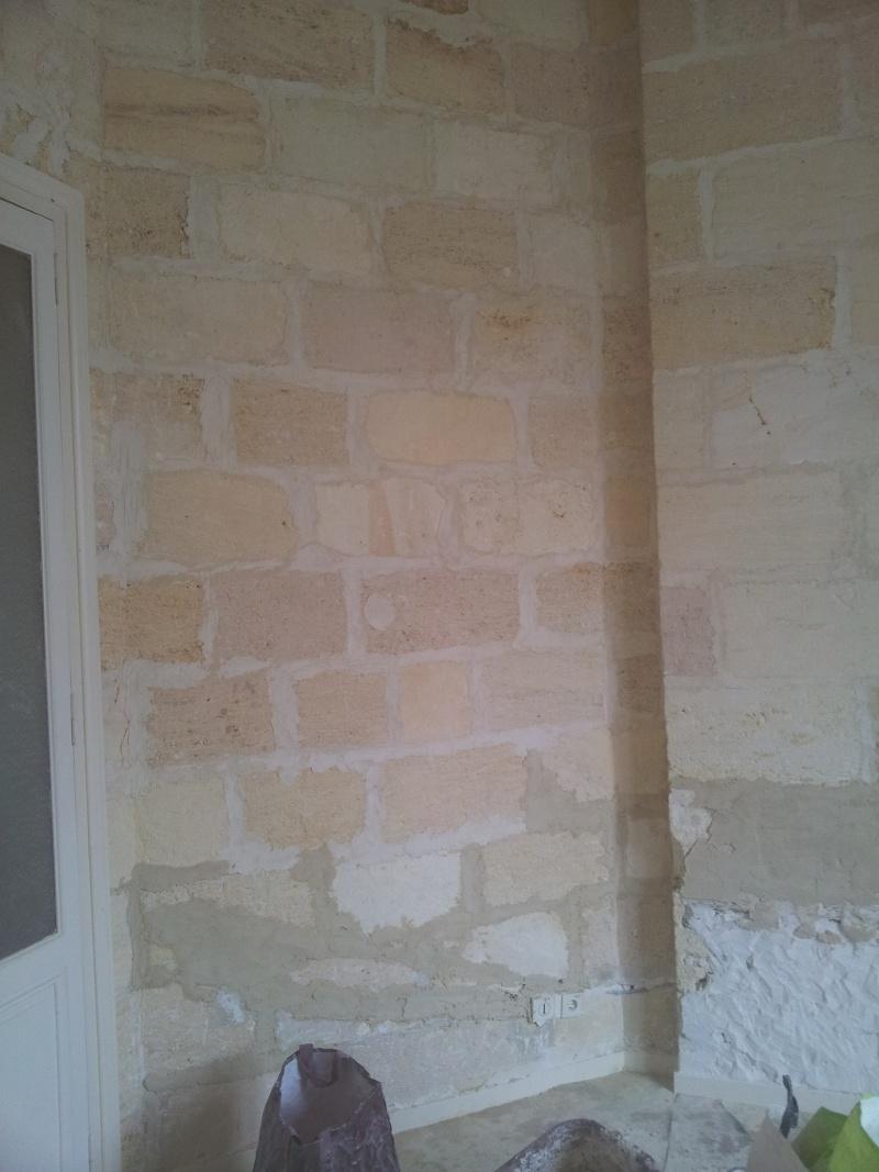 rénover un mur en pierre apparente avec joint ciment Result12