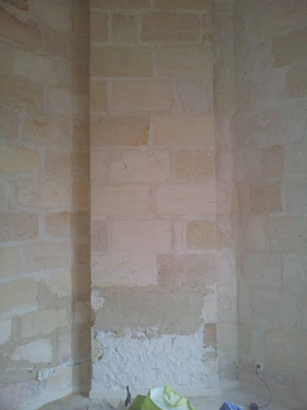 rénover un mur en pierre apparente avec joint ciment Result13