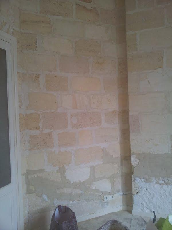 rénover un mur en pierre apparente avec joint ciment Result14