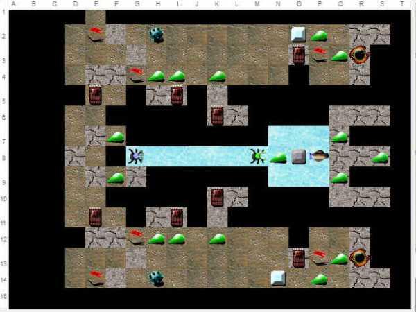 Map#30 : Entre 2 cases Entre210