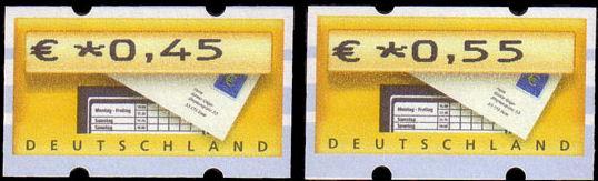 Automatenmarken aus Deutschland Bild110