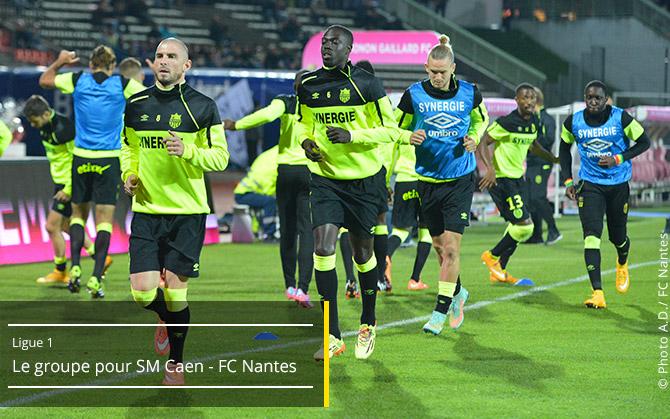 SM Caen - FC Nantes  13ème journée de Ligue 1 - Samedi 8 novembre 2014, 20h - Stade Michel D'Ornano Groupe10
