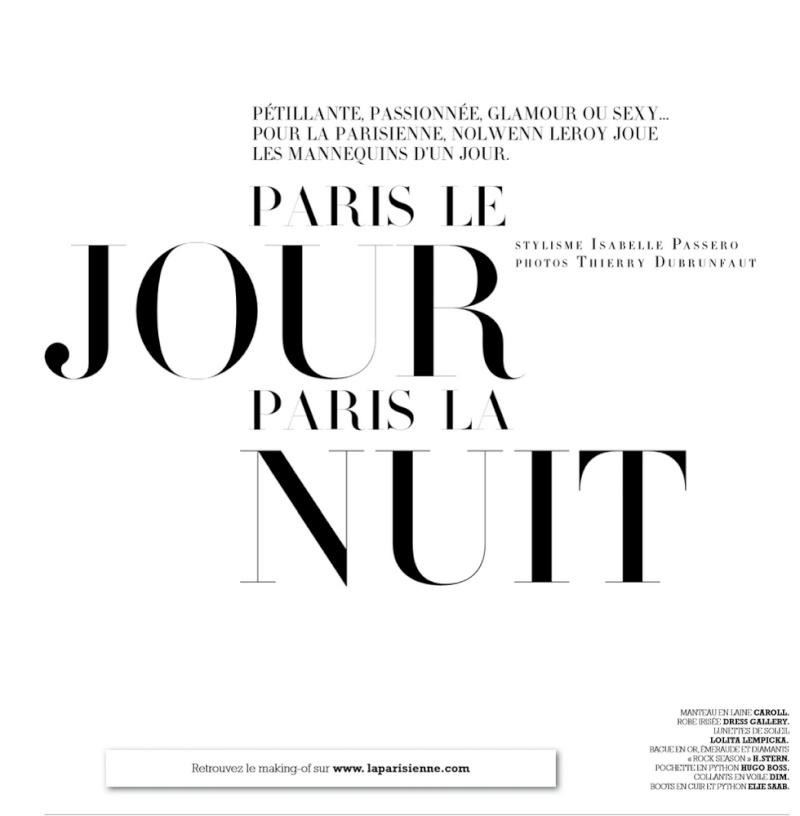 La parisienne Nolwenn  110