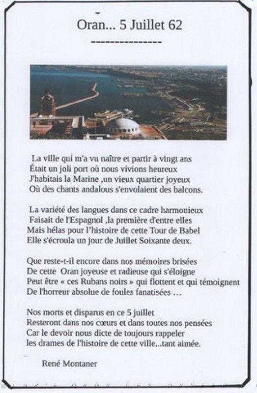ORAN LA RADIEUSE Poeme210