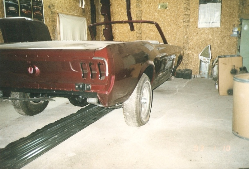 La Mustang 1967 du membre Renald Remillard 1996-211