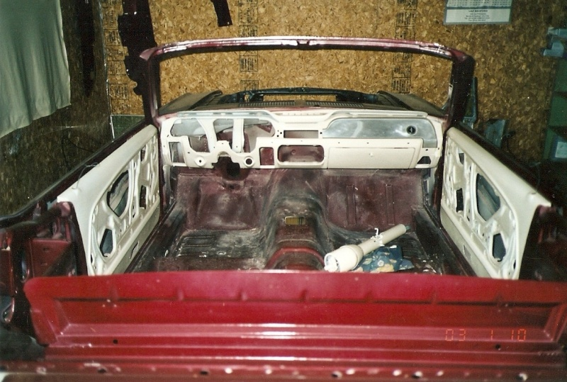 La Mustang 1967 du membre Renald Remillard 2003-011